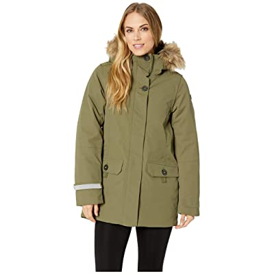 Helly Hansen Svalbard 2 Parka (Ivy Green) Women
