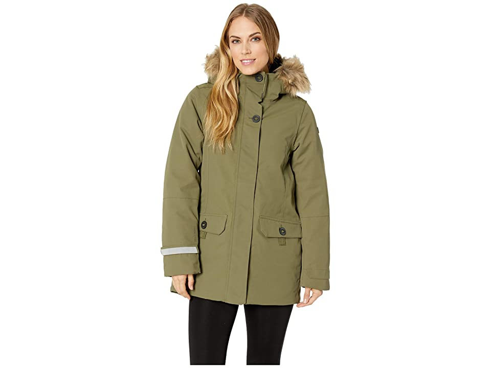 Helly Hansen Svalbard 2 Parka (Ivy Green) Girl