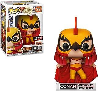 Funko Conan O'Brien (GameStop Exclusive): Conan Without Borders x POP! Vinyl Figure & 1 POP! Compatible PET Plastic Graphical Protector Bundle [#023 / 34931 - B]