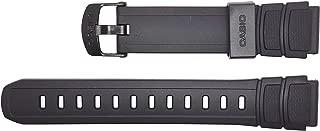 watch strap watchband Resin Band black HDA-600 HDA-600B