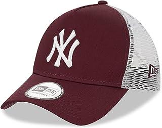 New Era New York Yankees A Frame Adjustable Trucker Cap Neon Trucker