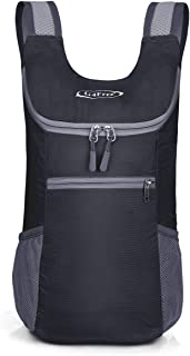 G4Free Lightweight Packable Shoulder Backpack Hiking Daypacks Small Casual Foldable Camping Outdoor Bag 11L