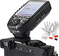 Godox Xpro-O for Olympus Panasonic TTL Wireless Flash Trigger 1/8000s HSS TTL-Convert-Manual Function Large Screen Slanted Design 5 Dedicated Group Buttons 11 Customizable Functions