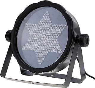sahadsbv Éclairage de scène RGB LED Stage Light 25W DMX-512 AC 90-240V/3/7 canaux/éclairage Professionnel Stroboscope Comp...