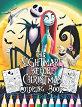 The Níghtmare Before Chrístmas Coloring Book: 64 Pages (31 illustrations) Special For Everyone   Great Coloring Pages   It...