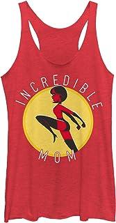 Disney Women's Officially Licensed Incredible Mom Junior's Racerback Tank