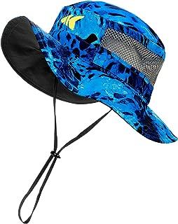 KastKing Sol Armis UPF 50 Boonie Hat - Sun Protection Hat, Fishing Hat, Beach & Hiking Hat, Paddling, Rowing, Kayaking - Breathable Fabric - Comfortable - Prym1 Camo