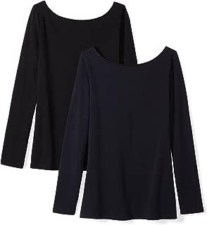 Amazon Brand - Daily Ritual Women's Stretch Supima Long-Sleeve Ballet Back T-Shirt
