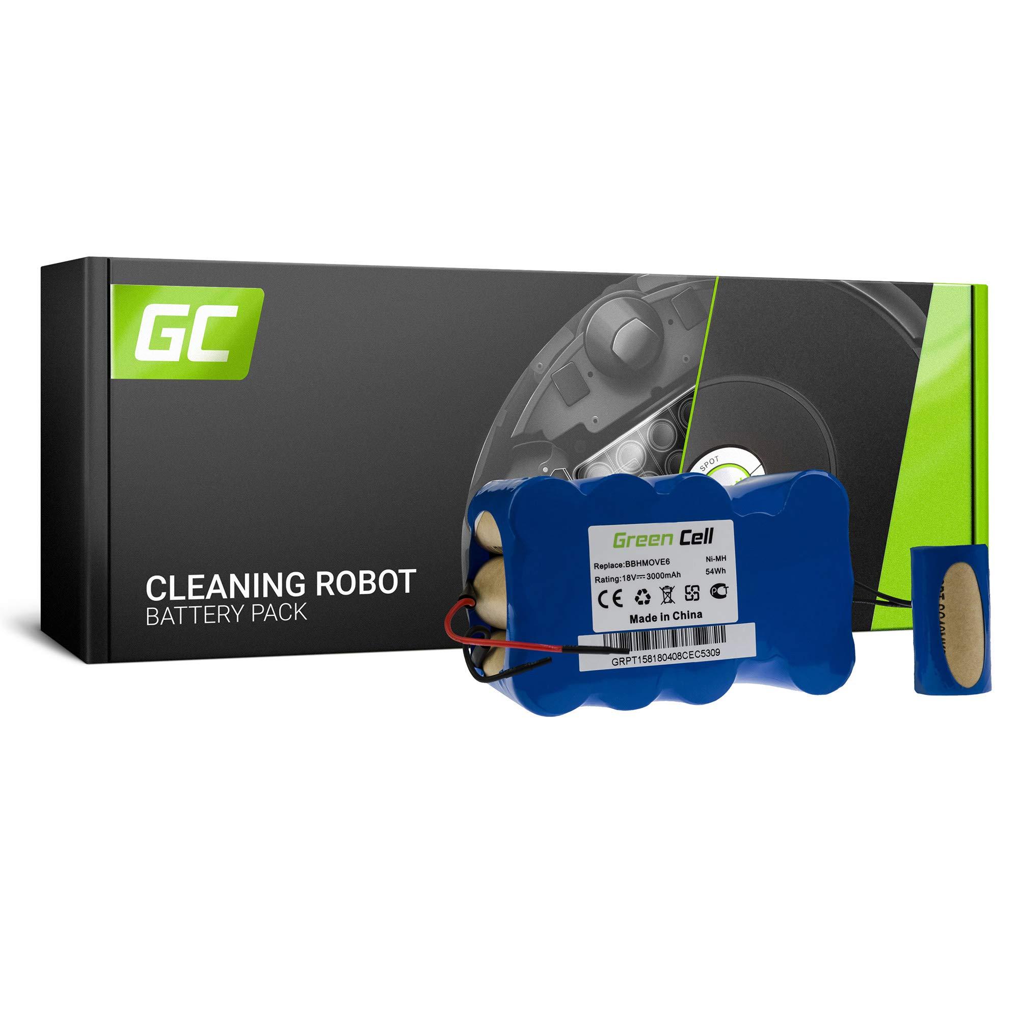 GC® - Batería para aspiradora Bosch BBH Move 4 (3 Ah, 18 V, Ni-MH ...
