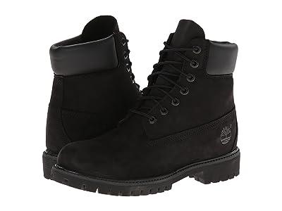 Timberland 6 Premium Waterproof Boot (Black Nubuck) Men