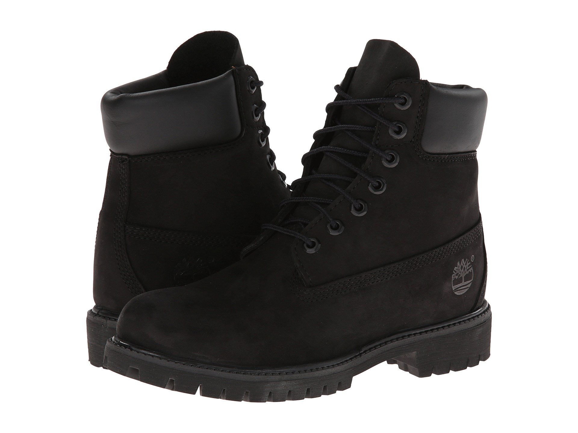 Popular Womenu0026#39;s 14u0026quot; Premium Side-zip Lace Waterproof Boots In Black Smooth Timberland Black Smooth ...