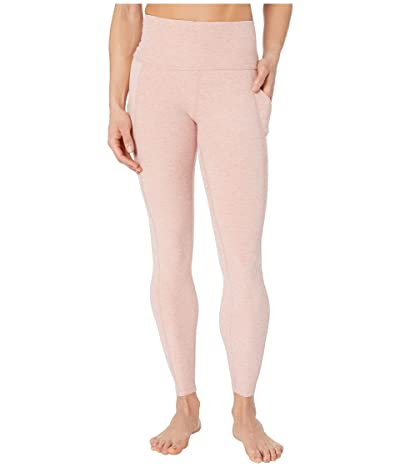 Beyond Yoga Spacedye In The Mix High-Waisted Midi Leggings (Tinted Rose/Pink Quartz) Women