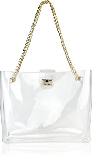 designer clear beach totes