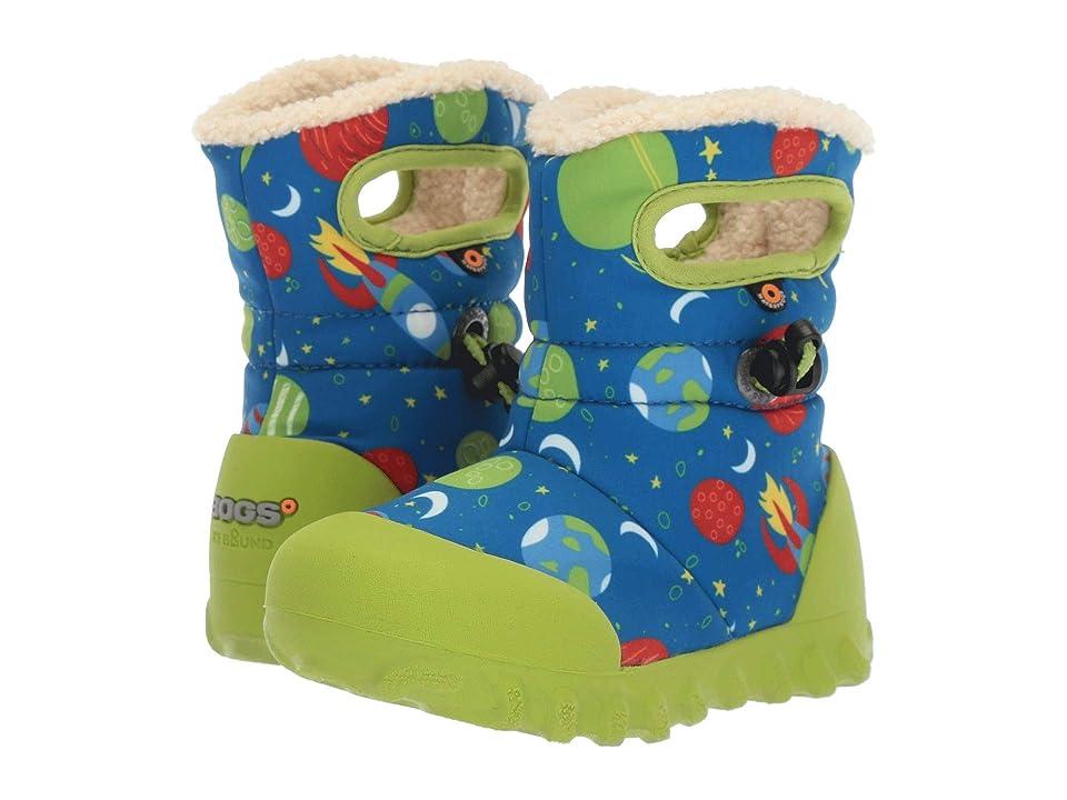 Bogs Kids B-Moc Space (Toddler/Little Kid) (Blue Multi) Boy