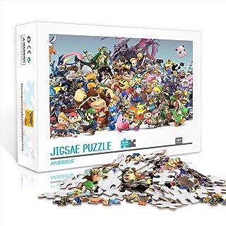 YITUOMO 1000 pièces Puzzles pour Adultes ou Adolescents Super Mario Mario (1 Puzzle Classique Jouets éducatifs Bricolage C...