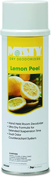 Misty AMR A238 20 LP 20oz Lemon Peel Dry Deodorizer