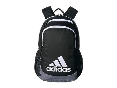 adidas Kids Young BTS Creator Backpack (Little Kids/Big Kids) (Black/Grey/White) Backpack Bags