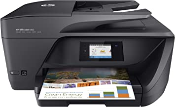 $116 » HP OfficeJet 6962 Wireless All-in-One Color Inkjet Printer with Wi-Fi and Mobile Printing, T0G25A (Renewed)