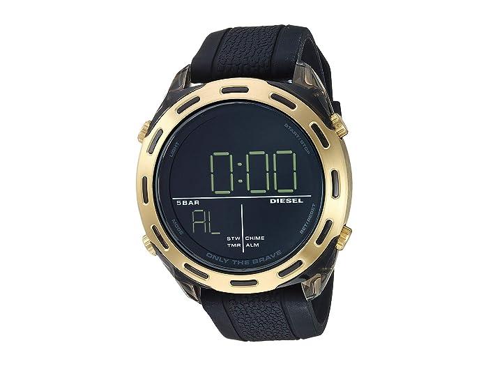 Diesel  Crusher - DZ1901 (Black) Watches