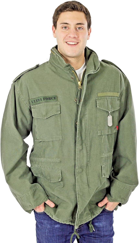 Redhco Vintage M65 Field Jacket Olive Drab Medium