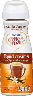 Coffee Mate Vanilla Caramel Liquid Coffee Creamer, 16 Fl Oz (Pack of 6)