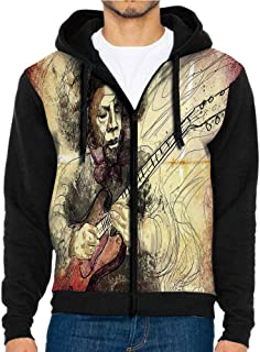 3D Printed Hoodie Sweatshirts,with Music Notes,Hoodie Casual Pocket Sweatshirt