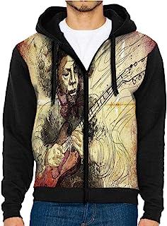 3D Printed Hoodie Sweatshirts,with Music Notes,Hoodie Casual Pocket Sweatshirt