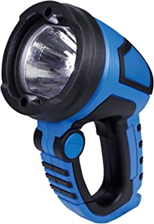 Cartrend 80286 LED-arbetslampa, 3 watt power-LED, 12 och 230 volt adapter