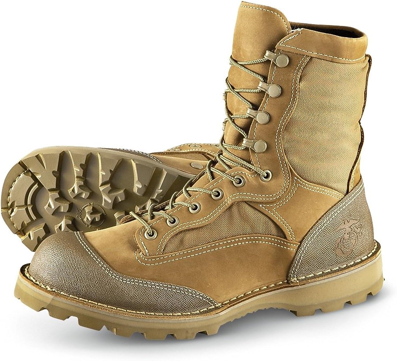 Bates Men's 8  USMC R.A.T. Boots Olive Mojave