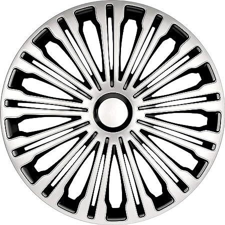 Tunershop 17 Zoll Radkappen Radzierblenden Radblenden Passend Für Mercedes Stahlfelgen 2431098 Silber Winter Sommer Auto