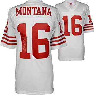 Joe Montana San Francisco 49ers Autographed Mitchell & Ness White Replica Jersey with