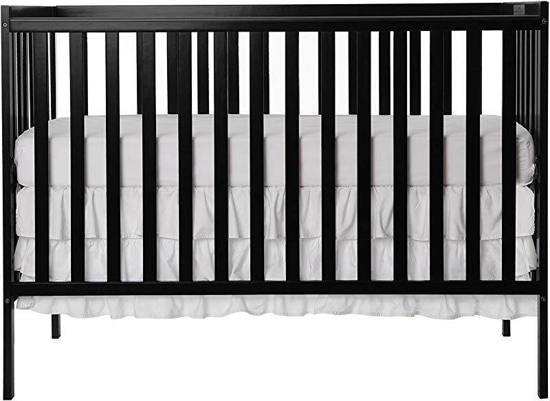 Dream On Me Synergy 5 In 1 Convertible Crib Black