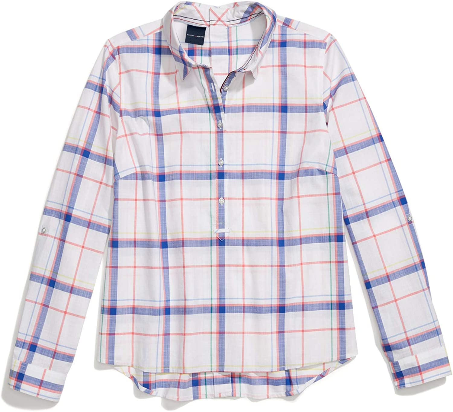 Tommy Max 47% OFF Hilfiger Women's Adaptive Seated Magnetic Button Fit Shirt New product
