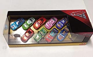 Actioin Cars 3 Desert Race 11 Car Pack 1:55 Scale Diecast Rust-eze McQueen, Chick Hicks, McQueen, Todd Marcus, Rev-n-go, Tex, Reb Meeker, Cal Weathers, Brick Yardley, Bobby Swift, Jackson Storm
