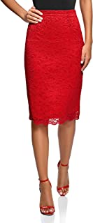 oodji Ultra Women's Lace Pencil Skirt
