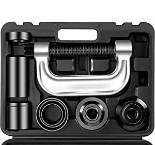 Heavy Duty Ball Joint Press & U Joint Removal Tool Kit with 4wd Adapters, for Most 2WD and 4WD Cars and Light Trucks (BK)
