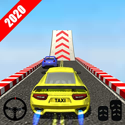 Taxi Stunt Master 3D: Car GT Drive Mega Ramp Game