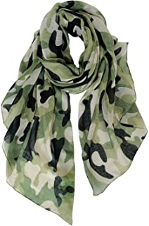 Best green camouflage scarf Reviews