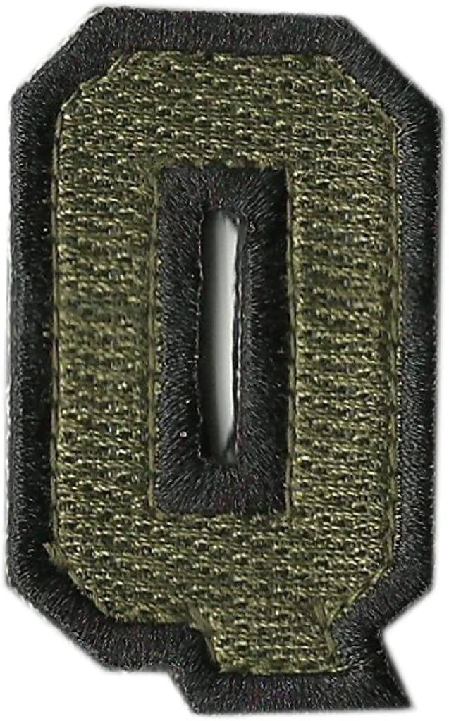 Trust Tactical Numbers Quality inspection Patches Olive -