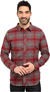 The North Face L/S Approach Flannel Men's Biking Red Small