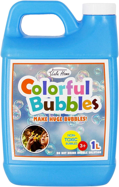 Lulu Home Bubble Concentrated Solution, 1 L/ 33.8 OZ Bubble Refi