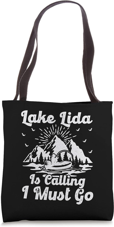 Brand new Lake Lida Is Calling I Tote Go Must Bag Fishing Minneapolis Mall