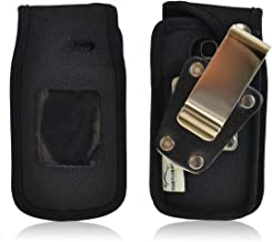 Turtleback Fitted Case Made for LG A380 Phone Black Nylon Heavy Duty Rotating Removable Metal Belt Clip Made in USA