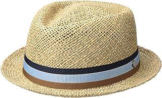 Lierys Cappello di Paglia Tricolour Band Donna/Uomo - Made in Italy da Sole Estivo con Nastro Grosgrain Primavera/Estate