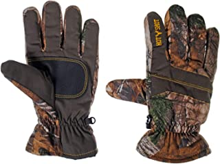 Hot Shot Mens Defender Camo Thinsulate Insulated Hunting Glove (Realtree Xtra, X-Large)