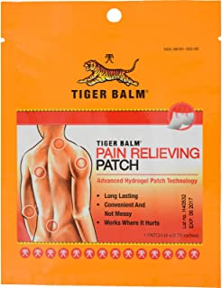 Tiger Balm Pain Relief Patch 1 pk