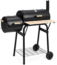 Best Choice Products BBQ Grill Charcoal Barbecue Patio Backyard Home Meat Cooker Smoker