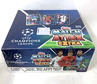 2019/20 Topps UEFA Champions League Match Attax Extra Retail Display Box