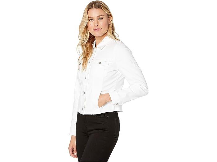 Tommy Bahama Ella Twill Jean Jacket White Cos & Outerwear
