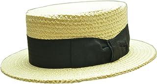 Tesiテシ イタリア製ストローカンカン帽(ナチュラル) T0622